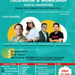 "Digital Marketing Talkshow Semarang ""The MeetUp Market 2018"""